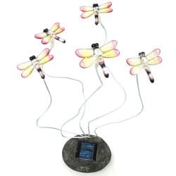 Blinking Dragonflies Solar Light
