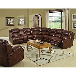 Samara Recliner Sectional Sofa