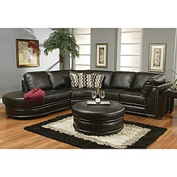 Sophia Leather Sectional Sofa