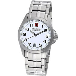 Swiss Military Hanowa Men's Tomax Stainless Steel White Dial Watch