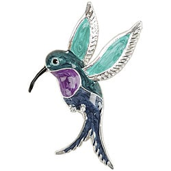 Blue Moon Manor House Hummingbird Pendant