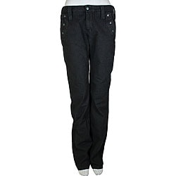 Diesel Women's Black Closy Pants