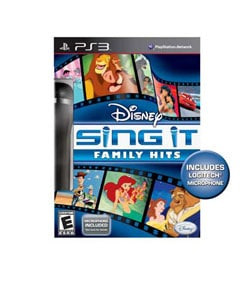 PS3 - Disney Sing It: Family Hits (W/Microphone )- By Disney Interactive