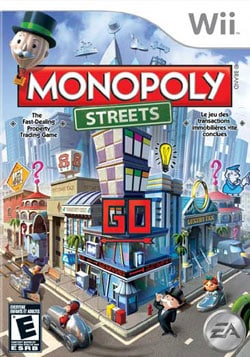 Wii - Monopoly Streets - By Electronic Arts