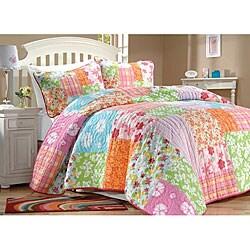 Aloha Multicolor Quilt Set