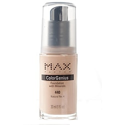 Max Factor Color Genius # 440 Natural No. 4 Foundation (Pack of 4)
