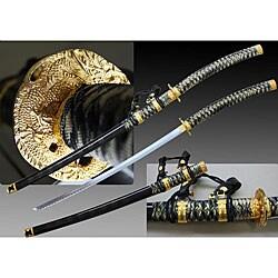 Black Jintachi 43.25-inch Ceremonial Samurai Sword 6955923