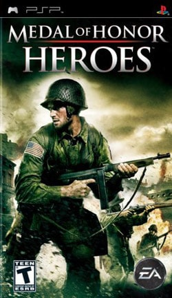 PSP - Medal of Honor Heroes - By Electronic Arts