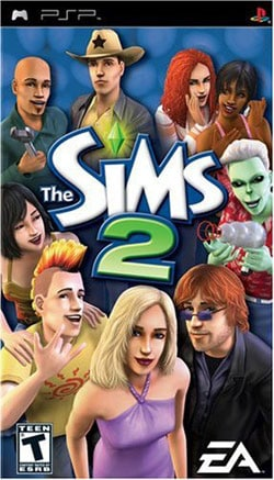 PSP - The Sims 2