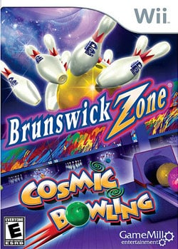 Wii - Brunswick Zone Cosmic Bowling - By Game Mill