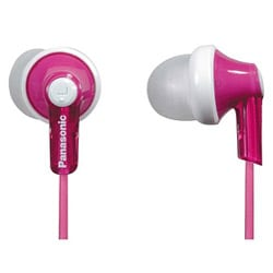 Panasonic Pink In-ear Earbuds