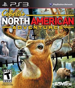 PS3 - Cabela`s North American Adventures 2011 - By Activision Inc.