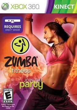 Xbox 360 - Zumba Fitness (Kinect) - By Majesco