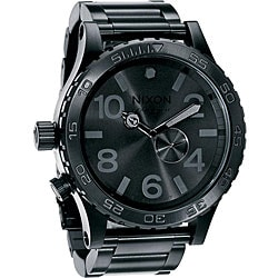 Nixon 51-30 Men's All Black Stainless Steel Watch