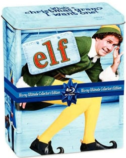 Elf - Ultimate Collector's Edition with 2-DVD + CD, Holiday Gift Tin (Blu-ray Disc)