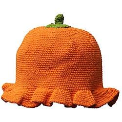 Handmade Cotton Crocheted Summer Kid Pumpkin Hat (Indonesia)