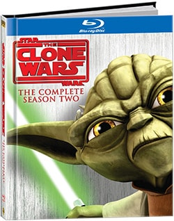 Star Wars: Clone Wars Season Two DigiBook (Blu-ray Disc) 7052858