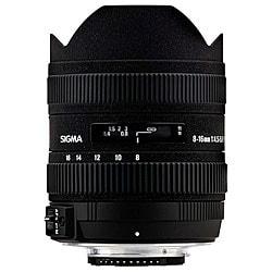 Sigma 8-16mm F4.5-5.6 DC HSM Nikon Lens