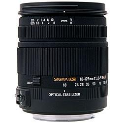 Sigma 18-125mm F3.8-5.6 DC HSM Sony Lens