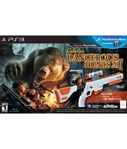 PS3 - Cabela's Dangerous Hunts 2011 Bundle