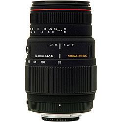Sigma 70-300mm f4-5.6 DG APO Pentax Macro Lens