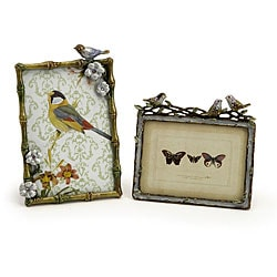 Feathered Friends Picture 2-piece Frame Set
