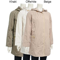 Nuage Women's Hooded Zip-front Jacket