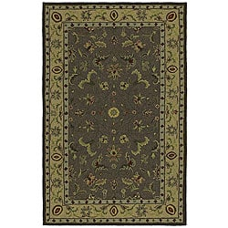 Home & Porch Chatham County Indoor/ Outdoor Brown Rug (5' x 7'6)