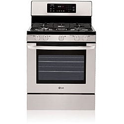 LG 5.4-cubic-foot Stainless Gas Range