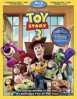 Toy Story 3 - Includes Digital Copy; Spanish (Blu-ray/DVD)