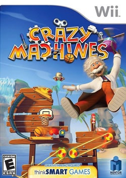 Wii - Crazy Machines - By Mentor Interactive