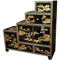 Black Step Tansu (China)