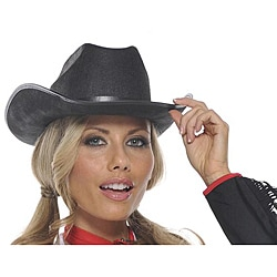 Black Costume Cowboy Hat costumes