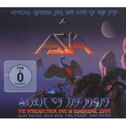 Asia (Rock) - Spirit of the Night: The Phoenix Tour Live in Cambridge 2009 [Special Edition Box Set Live CD/DVD] [Digipak]
