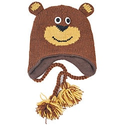 Wool Forest Bear Beanie (Nepal)