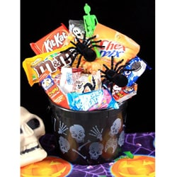Spooky Halloween Treats Gift Basket