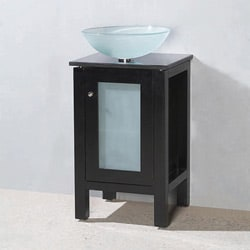 Andromeda Modern Solid Wood Bathroom Vanity