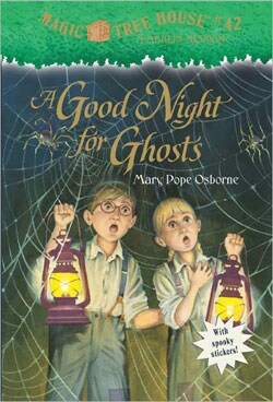 A Good Night for Ghosts (Magic Tree House Series #42) (Paperback)