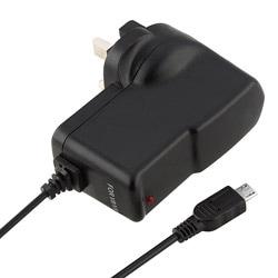 INSTEN Black Micro USB UK Travel Charger for Samsung T959 Vibrant 7493617