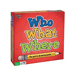 Who? What? Where? Drawing Game