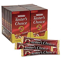 Nescafe Taster's Choice Original Blend Coffee Sticks (Case of 84)
