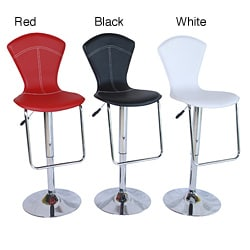 Rosa Casual Adjustable Barstools (Set of 2)