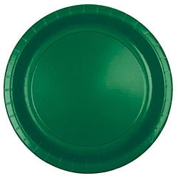Duni Dark Green 8.75-in Paper Plates (Case of 600)