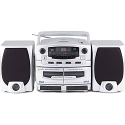 Supersonic SC-2020 Portable CD/ Cassette/ AM/FM Stereo