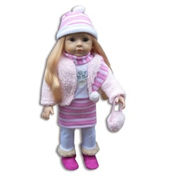 New York Doll Collection 18-inch Rosy Doll