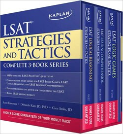 Kaplan Lsat Strategies and Tactics Complete 3-book Series (Paperback)