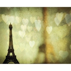 'Paris is for Lovers' Gallery-wrapped Canvas Art