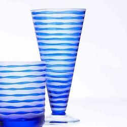 Impulse Vienna Blue All-purpose Glasses (Set of 4)