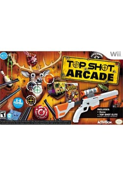 Wii - Top Shot Arcade with Gun - By Activision