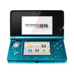 NinDS 3DS - 3DS Aqua Blue